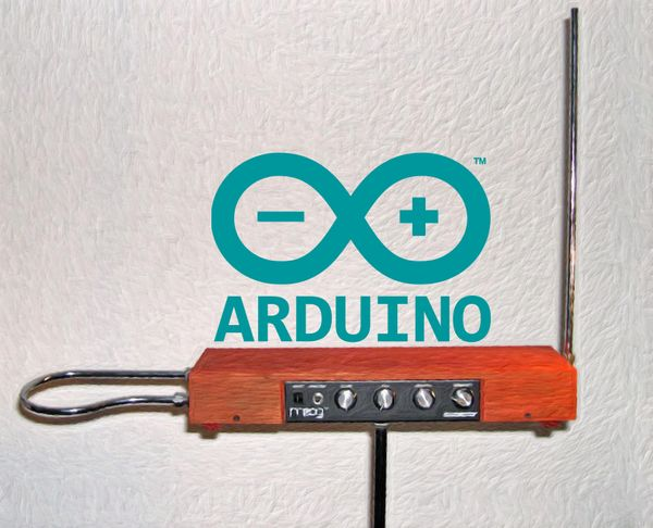 Arduino + NodeJS = Theremin w/ Visualizer