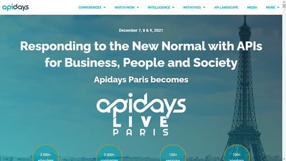 30 Secondsessions – API Days Paris 2020